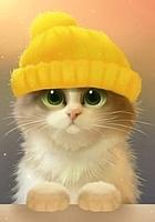 Набор алмазной вышивки Гранни Милый котик (Ag 004) -