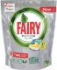 Капсулы для посудомоечных машин Fairy Platinum All-in-1 Лимон (37шт) -