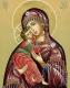 Набор алмазной вышивки Гранни Владимирская икона Божией Матери  (Ag 3416) -
