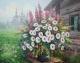 Набор алмазной вышивки Гранни Букет полевых цветов (Ag 4645) -