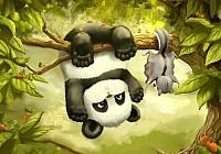 Набор алмазной вышивки Гранни Маленькая панда (Ag 005) -