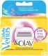Сменные кассеты Gillette Venus&Olay Sugarberry (4шт) -