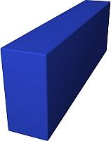 Мягкий модуль Romana Прямоугльник ДМФ-ЭЛК-02.07.01 (темно-синий) -