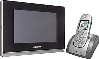 Видеодомофон Commax CDV-1020AQ (черный, + трубка CDT180) -