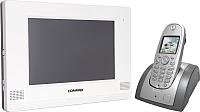 Видеодомофон Commax CDV-1020AQ (белый, + трубка CDT180) -