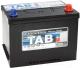 Автомобильный аккумулятор TAB Polar S Asia 75 JL / 246775 (75 А/ч) -
