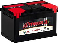 Автомобильный аккумулятор A-mega Standard 73 R low / ASt 73B0 (73 А/ч) -