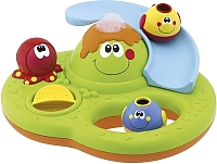 Игрушка для ванны Chicco Остров из пузырьков 70106 -