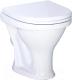 Унитаз напольный Santeri Вест Стандарт 1P2018S0000BF ((чаша унитаза)) -
