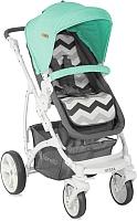 Детская универсальная коляска Lorelli Vista Grey Green (10020971703) -