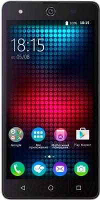 Смартфон BQ Strike Selfie BQS-5050 (серый)