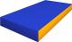 Гимнастический мат Romana ДМФ-ЭЛК-14.00.02 (синий/желтый) -