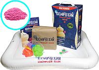 Набор для лепки Космический песок Розовый КП05Р30Н (3кг) -