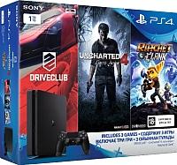 Игровая приставка Sony CUH-2008B / PS719806264 (+ 3 игры) -