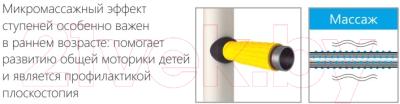 Детский спортивный комплекс Romana Комета Next 1 ДСКМ-2С-8.06.Г1.490.01-24 (белый антик/золото)