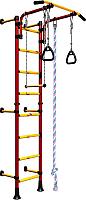 Детский спортивный комплекс Romana Комета Next 1 ДСКМ-2С-8.06.Г1.490.01-24 (красный/желтый) -