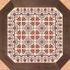 Декоративная плитка Opoczno Dover Place Carpet (430x430) -