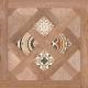 Декоративная плитка Opoczno Elbert House беж (430x430) -