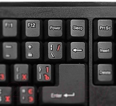 Клавиатура Sven KB-S306 (черный)