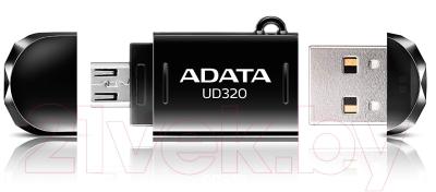 Usb flash накопитель A-data DashDrive Durable UD320 16GB  (AUD320-16G-RBK)