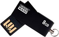 Usb flash накопитель Goodram UCU2 8GB (черный) (UCU2-0080K0R11) -