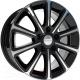 Литой диск SKAD Милан 16x6,5 5x100мм DIA 67,1мм ET 38мм (черный глянец) -