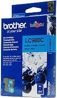 Картридж Brother LC980C -