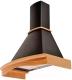 Вытяжка купольная Pyramida R 90 Black/U -
