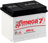 Автомобильный аккумулятор A-mega Ultra (50 А/ч) -