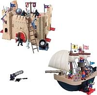 Игровой набор RedBox Замок и пиратский корабль 20226-1 -