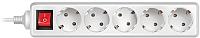 Сетевой фильтр Sven Standard Pro 3G-5/1.5m (белый) -