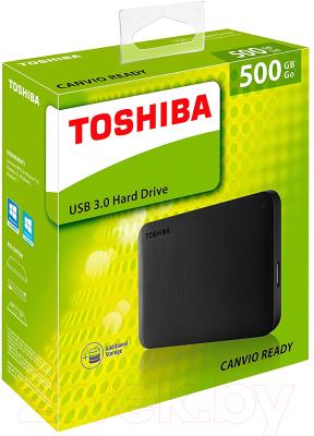 Внешний жесткий диск Toshiba Canvio Ready 500GB (HDTP205EK3AA)