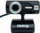 Веб-камера Dialog WC-15U (черный) -