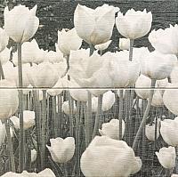 Декоративная плитка Tubadzin Sabaudia Flower (448x448) -