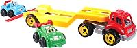 Набор игрушечных автомобилей ТехноК Автовоз с набором машин 3909 -