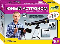 Детский телескоп Step Puzzle Юный астроном Домашняя лаборатория 76075 -