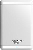 Внешний жесткий диск A-data HV100 1TB White (AHV100-1TU3-CWH) -