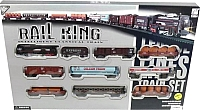 Железная дорога детская Big Motors Rail King 19033-8 -