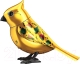 Интерактивная игрушка Silverlit Золотая птичка с кольцом 88409 -