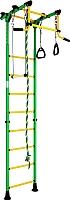 Детский спортивный комплекс Romana Комета 2 ДСКМ-2-8.00.Г.490.01-11 (зеленый/желтый) -