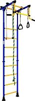 Детский спортивный комплекс Romana Комета 2 ДСКМ-2-8.00.Г.490.01-11 (синий/желтый) -