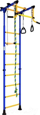 Детский спортивный комплекс Romana Комета 2 ДСКМ-2-8.00.Г.490.01-11 (синий/желтый)
