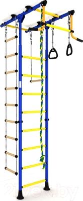 Детский спортивный комплекс Romana Комета 1 ДСКМ-2-8.06.Т.490.01-108 (синий/желтый)