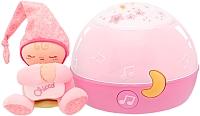 Ночник Chicco Звездный ночник-проектор (розовый) -