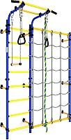 Детский спортивный комплекс Romana Next 3/S3 ДСКМ-3С-8.06.Г1.490.01-28 (синий/желтый) -