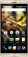 Смартфон Vertex Impress Jazz (черный/золото) -
