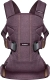Сумка-кенгуру BabyBjorn One Cotton Mix Blackberry Red 0930.77 -