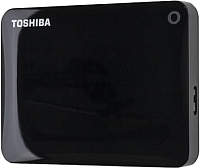 Внешний жесткий диск Toshiba Canvio Connect II 3TB Black (HDTC830EK3CA) -