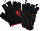 Перчатки для пауэрлифтинга Adidas ADGB-12322RD (M, красный) -