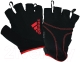 Перчатки для пауэрлифтинга Adidas ADGB-12321RD (S, красный) -